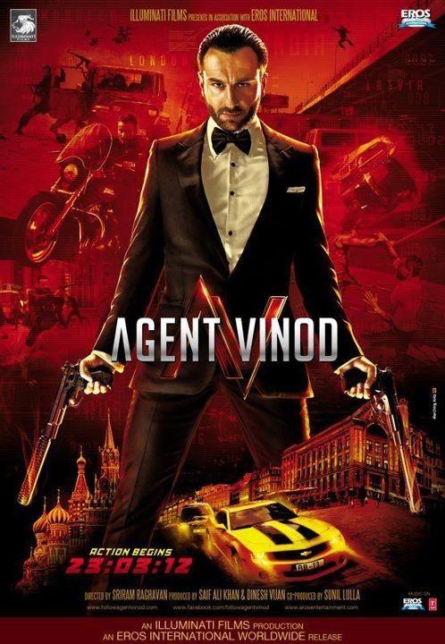 Агент Винод смотреть индийский фильм